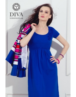 Платье для кормящих и беременных Diva Nursingwear Dalia, цвет Azzurro