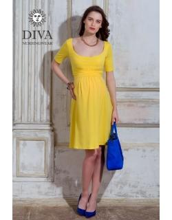 Платье для кормящих и беременных Diva Nursingwear Stella, Limone