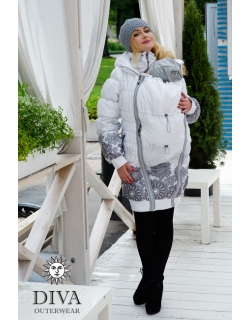 Diva Outerwear слингокуртка Bianco