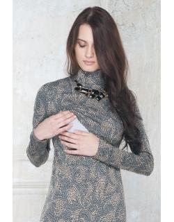 Платье для кормящих Diva Nursingwear Simone, принт Vite