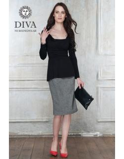 Топ для кормящих и беременных Diva Nursingwear Alba, цвет Nero