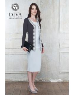 Кардиган для кормящих и беременных Diva Nursingwear Enrica, цвет Grafite