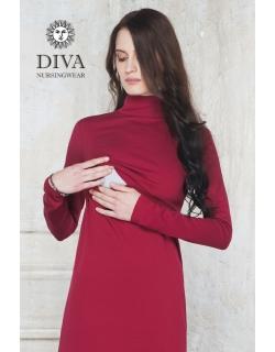 Платье для кормящих Diva Nursingwear Simone, цвет Berry