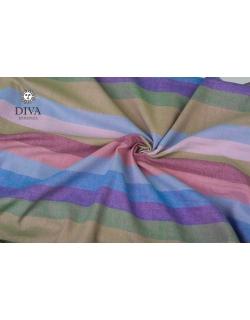 Слинг-шарф двойного диагонального плетения Diva Essenza, Prato