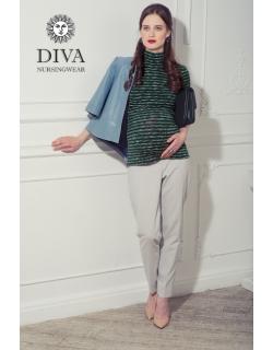 Топ для кормящих Diva Nursingwear  Felisa Strisce, цвет Pino