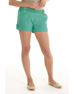 Шорты для беременных и родивших Mothers en Vogue Boardwalk короткие, бирюзовый (Teal)