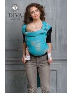 Май-слинг Diva Basico, Laguna с капюшоном