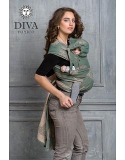 Май-слинг Diva Basico, Pino с капюшоном