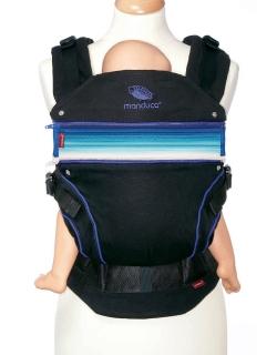 Вставка в удлинение спинки эрго-рюкзака Manduca, синий