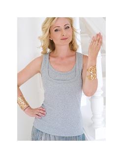 Топ для кормления Diva Nursingwear Eva, цвет Nebbia