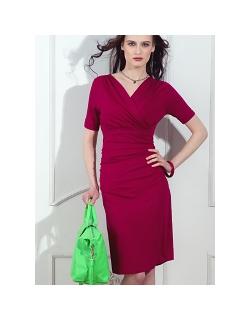 Платье для кормящих и беременных Diva Nursingwear Lucia кор.рукав, Berry