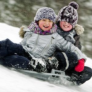 Зимние игры с маленькими детьми