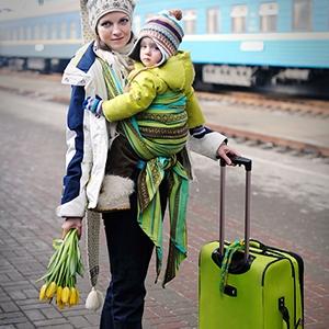 Путешествие с маленьким ребенком