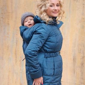 Как носить ребенка в слинге зимой?