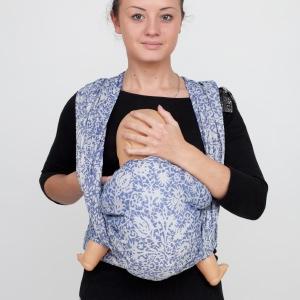 Как кормить грудью ребенка в слинг-шарфе?