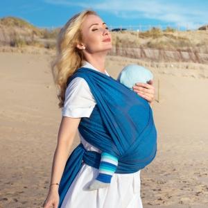 Как носить ребенка в слинге летом?