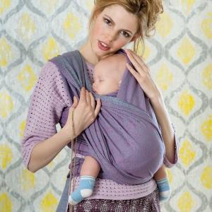 Правильный слинг для новорожденного