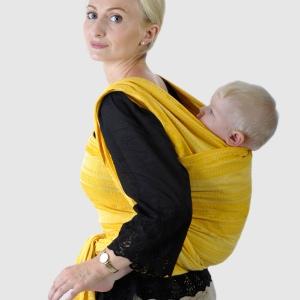 """Инструкция к слингу-шарфу за спиной: """"Двойное ребозо"""" (заспинная намотка)"""