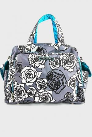 Дорожная сумка Ju-Ju-Be Be Prepared Charcoal Roses