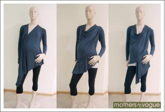 Кардиган для кормления Sangha Knitted, бежевый (Heather Khaki)