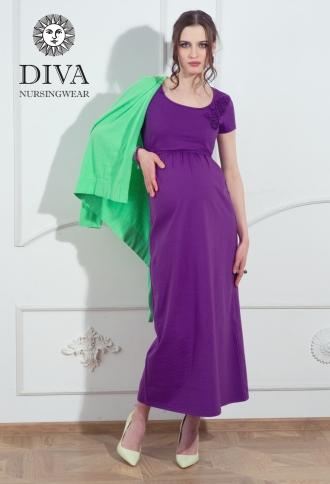 Платье для кормящих и беременных Diva Nursingwear Dalia, цвет Viola
