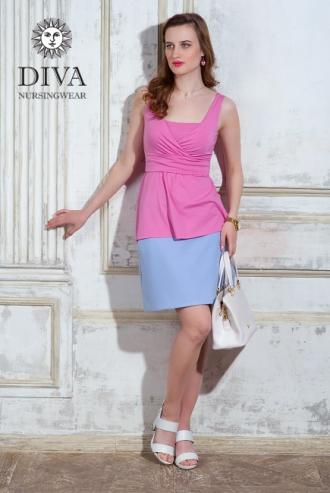 Топ для кормящих и беременных Diva Nursingwear Alba, цвет Rose