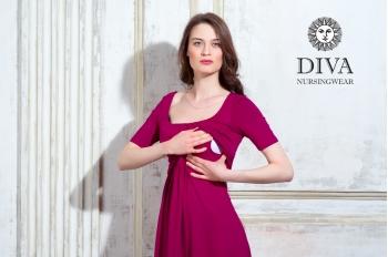 Платье для кормящих и беременных Diva Nursingwear Stella, Berry
