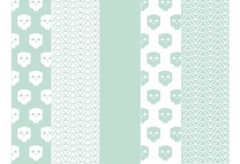 Муслиновые пеленки для новорожденных Jollein средние, Owl mint