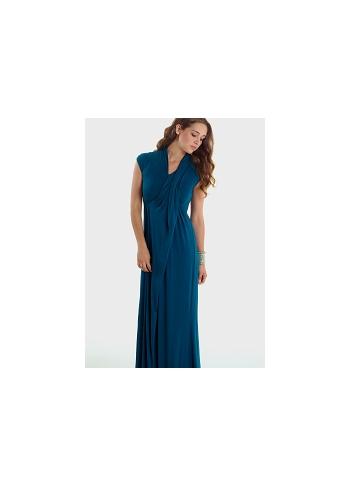 Платье Mothers en Vogue Gallery Maxi, морская волна