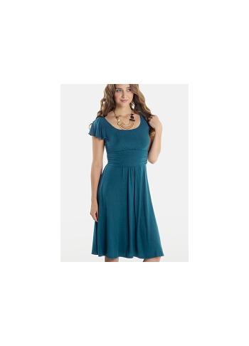 """Платье Mothers en Vogue """"Juliet"""" короткий рукав, морская волна"""
