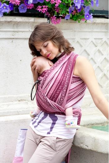 Слинг-шарф Ellevill Zara Tricolor Sugar