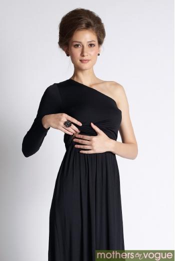 Вечернее платье для кормящих мам