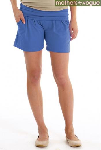 Шорты для беременных и родивших Mothers en Vogue Jersey Knit, цвет синий