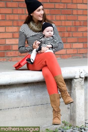 Туника для кормления Mothers en Vogue Ladder Stripe