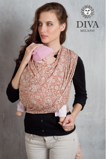 Слинг-шарф Diva Milano cо льном и коноплей, Veneziano Spezia