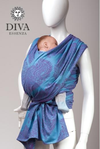 Слинг-шарф Diva Essenza, Azzurro