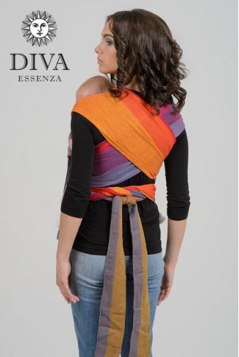 Май-слинг Diva Essenza, Cadere