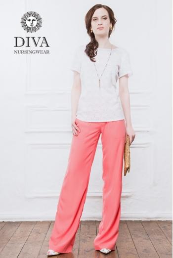 Брюки для беременных и кормящих Diva Nursingwear Deborah, Corallo
