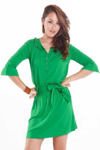 """Платье-туника для кормящих """"Weekend Shirtdress"""", Emerald"""