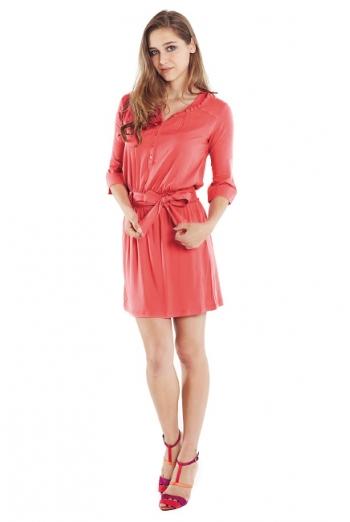 "Платье-туника для кормящих ""Weekend Shirtdress"", Georgia Peach"