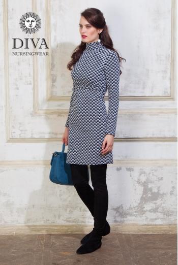 Платье для кормящих Diva Nursingwear Simone, принт Etna