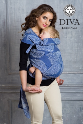 Май-слинг Diva Essenza, Azzurro Toddler