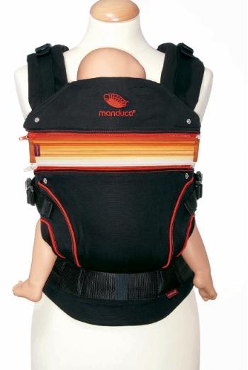 Эрго-рюкзак Manduca, Blackline красный