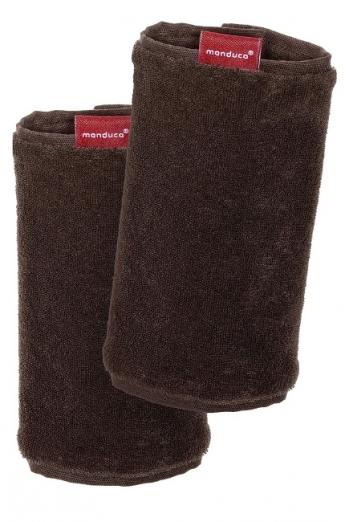 Накладки для сосания к эрго-рюкзаку Manduca коричневые