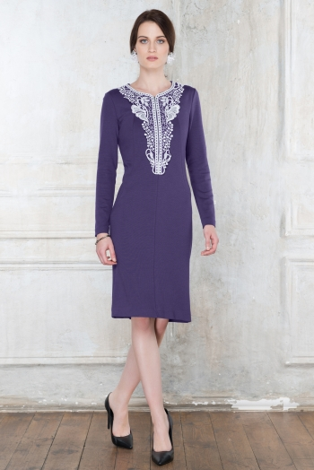 Платье для кормящих Diva Nursingwear Carmela, цвет Mora