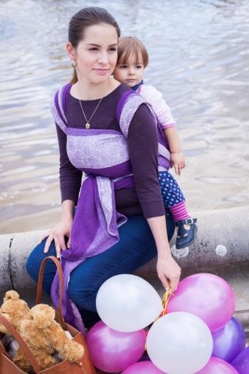 Слинг-шарф Ellevill Paisley Majesty