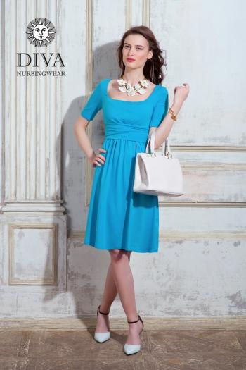 Платье для кормящих и беременных Diva Nursingwear Stella, Celeste