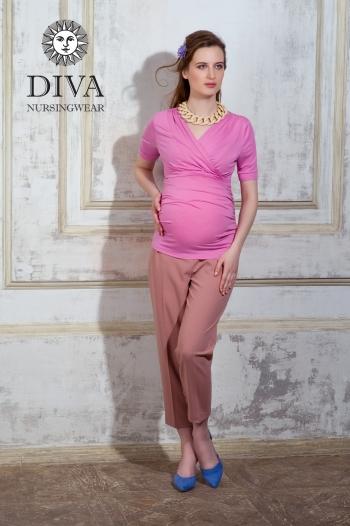 Топ для кормящих и беременных Diva Nursingwear Lucia, цвет Rose