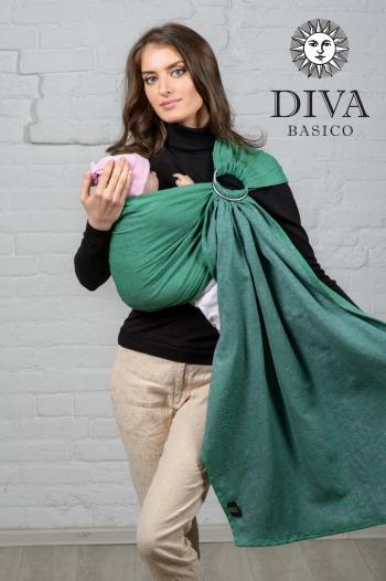 Слинг с кольцами Diva Basico, Aloe