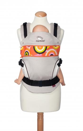Вставка в удлинение спинки эрго-рюкзака Manduca, CircadelicSun